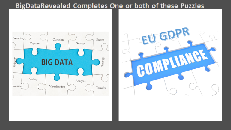 BigDataRevealed Completes One or both of these Puzzles